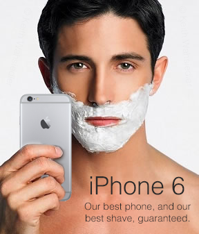 iPhone6髭が抜ける